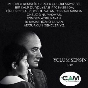 10 Kasım Hüznü Duyan, Atatürk'ün Gençleriyiz